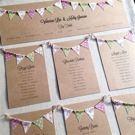 wedding table plan inspiration  advice hitchedcouk