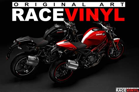 Ducati Monster 695 Aufkleber by Ducati Bikes Compatible With Racevinyl Kits Racevinyl