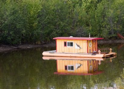 tiny boat house small house boat info links pictures and videos