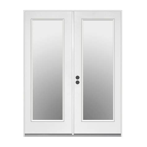 Reliabilt Patio Doors Shop Reliabilt 71 5 In 1 Lite Glass Steel Inswing Patio Door At Lowes