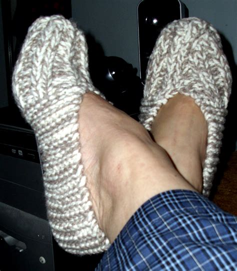 easy knitted slippers free pattern free slipper pattern