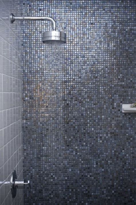 glass mosaic tile bathroom 40 blue glass mosaic bathroom tiles tile ideas and pictures