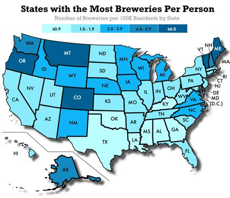 breweries in texas map where is craft most popular in america datafiniti