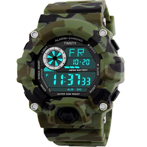 teen popular boys watches timsty digital sports boys watch waterproof military