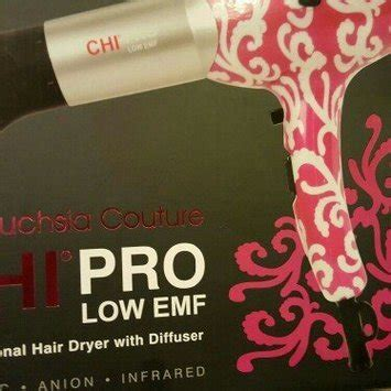 Chi Hair Dryer Diffuser chi pro low emf professional hair dryer with diffuser