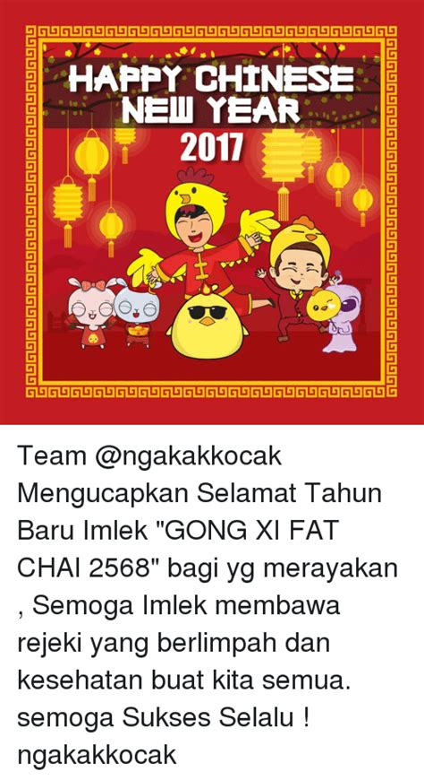 Selamat Tahun Baru Imlek Bagi Yang Merayakan 25 best memes about gong xi gong xi memes