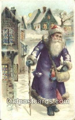 purple suit santa christmas vintage pinterest