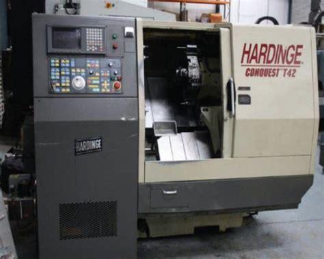 hardinge conquest  cnc lathe  sale machinery