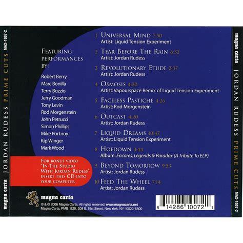 Cd Terry Bozzio Prime Cuts From Magna Carta Session prime cuts rudess mp3 buy tracklist