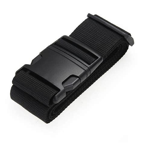 Luggage Belt luggage belt belt cord rope black for suitcase
