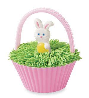 easter basket cupcakes allfreeholidaycraftscom