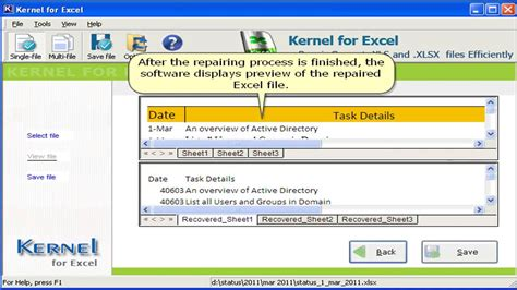 How To Recover Deleted Data From An Excel Spreadsheet by How To Recover Data From Corrupted Excel File Recover