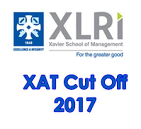 xat cut off pattern xlri xat cut off 2017 check xrli cut off here