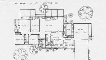 joseph eichler house plans http www eichlersocal com the eichler community eichler floor plans fairhills mid