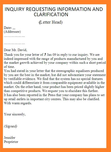 Inquiry Letter Travel Agency inquiry letter of request of cost travel letter of