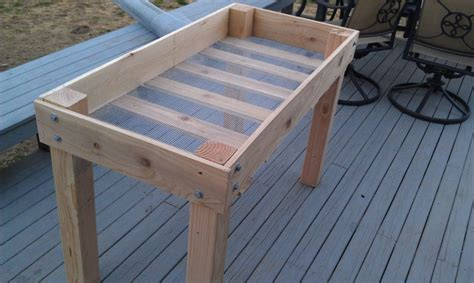 How To Make A Raised Planter by Plans For Raised Planter Boxes Plans Diy Free