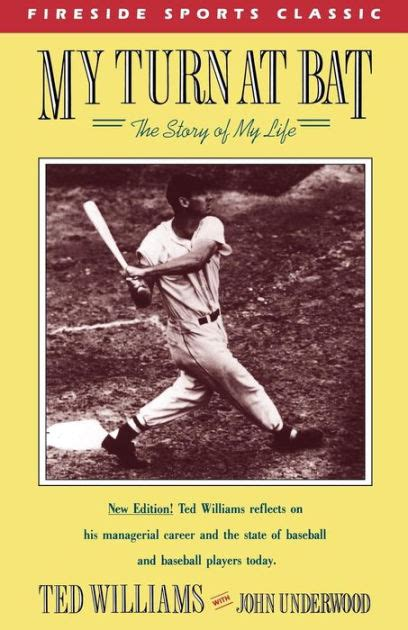 libro my turn the autobiography my turn at bat the story of my life by ted williams