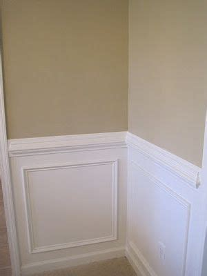 Wainscoting And Chair Rail by Chair Rail And Wainscoting Diy