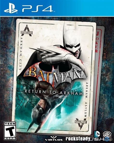 Ps4 Batman Return To Arkham Asylum batman return to arkham review ps4 push square