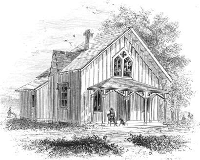 Superior Southern Architecture House Plans #3: Old-cottage03-line-drawing-pic227a.jpg