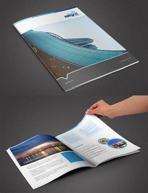design inspiration corporate design 26 beautiful exles of creative brochure designs