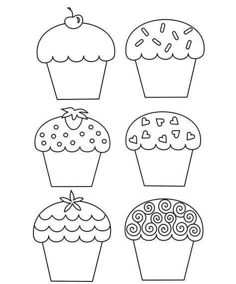 birthday cupcake coloring page birthday cupcake coloring pages photo and pictures for