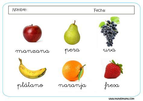 rimas con frutas rimas con nombres de frutas