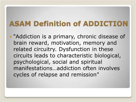 Definition Of Detox by Ppt Biology Of Addiction Powerpoint Presentation Id