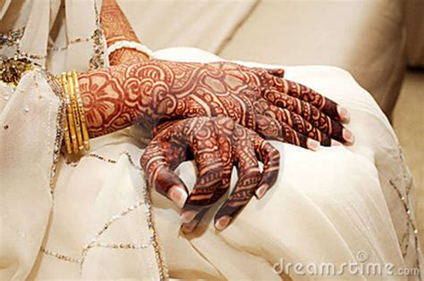 henna tattoo hand z rich indian brides henna stock photo image of gold henna