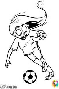 fotballspiller jente fargelegge