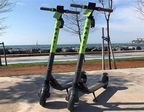 istanbul icin elektrikli scooter paylasim girisimi marti