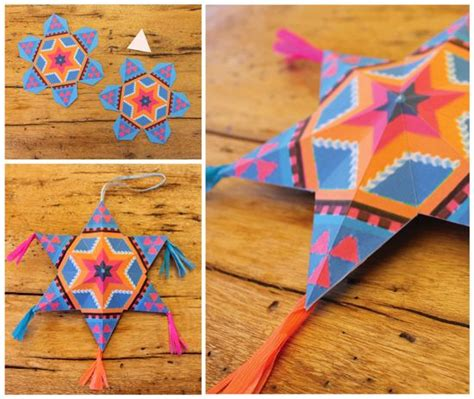 How To Make Mexican Paper Decorations - 4 and easy to make mexican paper craft decorations