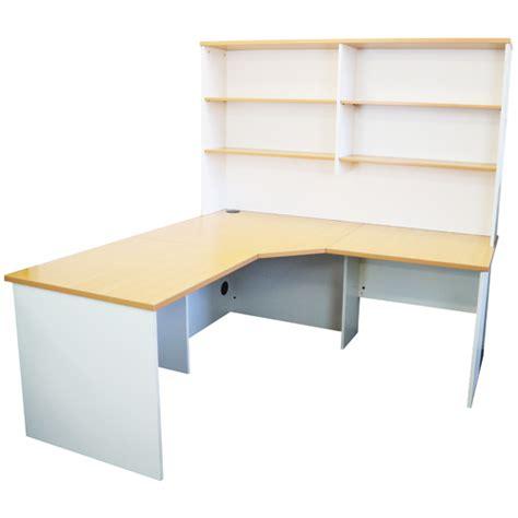 White Corner Desk Australia Origo Corner Workstation Office Desk Home Study Beech White For Sale Australia Wide Buy