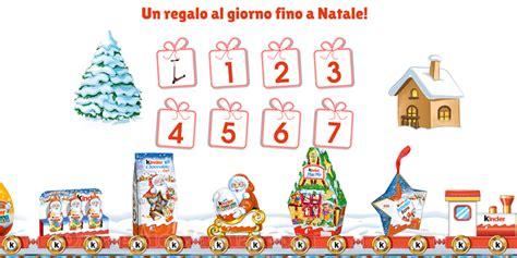 Calendario Avvento Per Whatsapp Calendario Dell Avvento Di Kinder Ogni Giorno 10 Premi