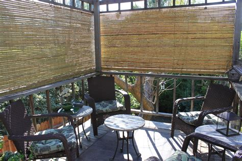 Bamboo Blinds For Outside Porch Bamboo Shades Patio