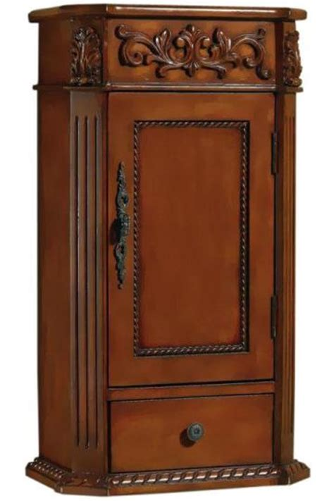 cherry bathroom wall cabinet home decor