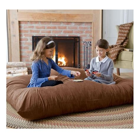 giant pillows for bed versatile oversized floor pillow pillows throws bed
