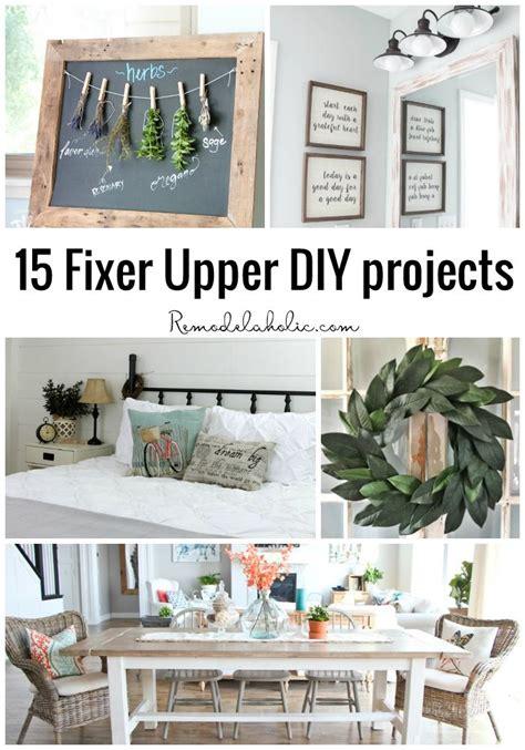 fixer upper book 15 fixer upper diy projects hard at work october and