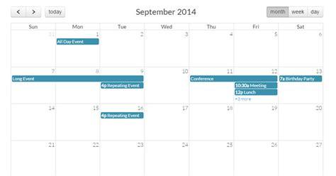 design calendar in php 30 best free calendar datepicker jquery plugins