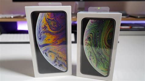 iphone xs and iphone xs max unboxing setup and look