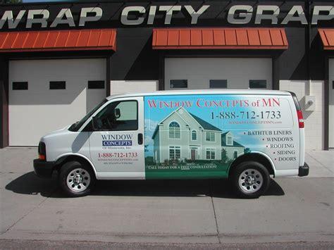 Detox Wrap Minneapolis by Vans Transits Sprinters Promasters Wrap City Graphics