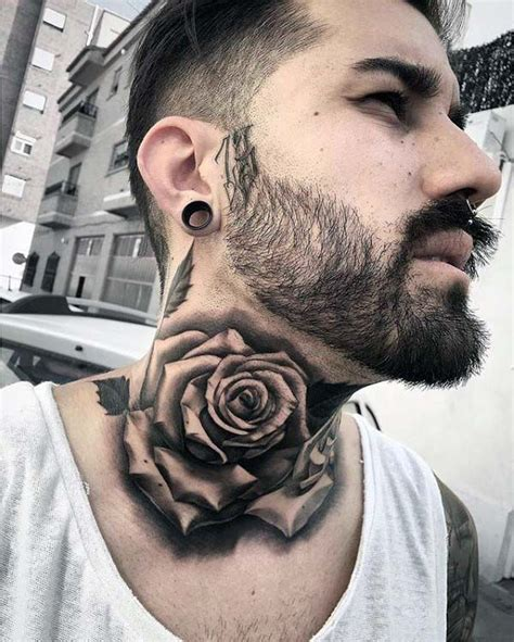 tattoos on the neck for men 15 most attractive neck tattoos for neck
