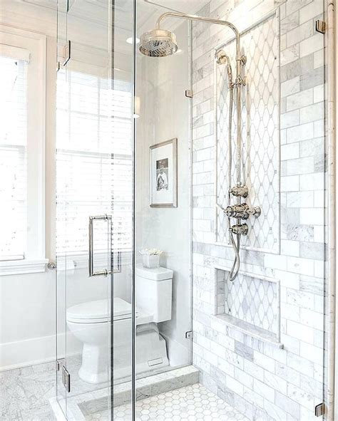 all white bathroom ideas 2018 white bathroom ideas marble subway tile and hexagon mosaic hexes bathroom black and white
