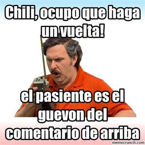 Pablo Escobar Meme - el guevon del comentario de arriba