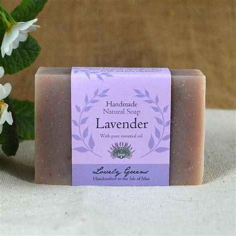 Handmade Lavender Soap - lavender soap by lovely greens handmade bath