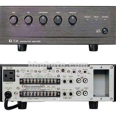 Toa Mixer Lifier Za 2030 toa electronics bg 1030 30w 5 channel mixer lifier bg 1030