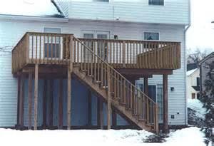 two story deck 20 unique 2 story deck designs home plans amp blueprints