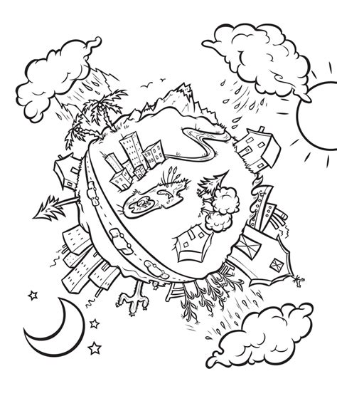 coloring page saving water water conservation for kids coloring pages az coloring pages