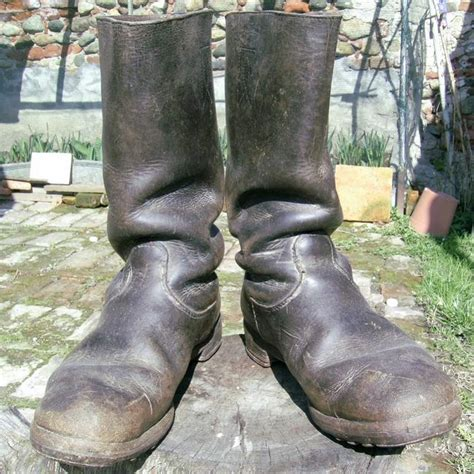 ww2 boots original ww2 german boots