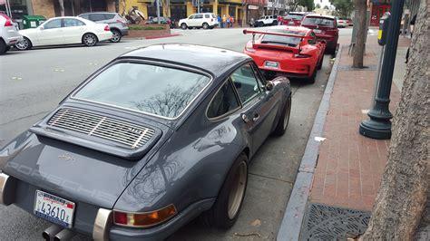Singer Porsche Replica by The Moment When A Singer Porsche 911 4 0 Makes A Brand New